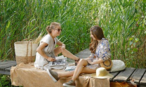 Мода, природа и усмивки - нима пикникът може да стане по-добър?